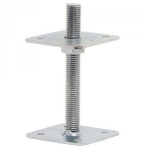 patka pilíře s pevnou horní deskou